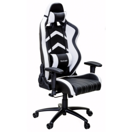 Cool Viscologic Lc 600 Ergonomic Racing Gaming Chair With Durable Metal Base White N Black Squirreltailoven Fun Painted Chair Ideas Images Squirreltailovenorg