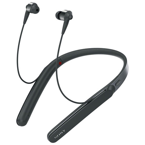 Sony In Ear Noise Cancelling Bluetooth Headphones Wi1000x Black Best Buy Canada