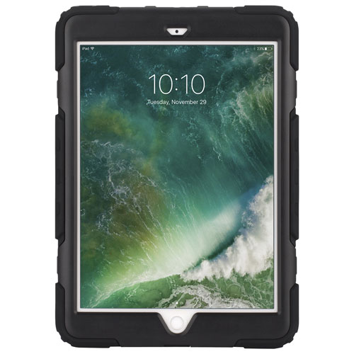 "Griffin Survivor All-Terrain Rugged Case for iPad 9.7"" 2017/2018 - Black/Clear"