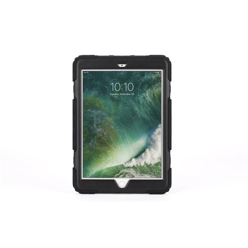 Étui robuste Survivor All-Terrain de Griffin pour iPad de 9,7 po 2017/2018 - Noir - Translucide