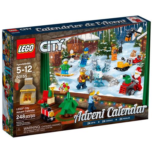 LEGO City Advent Calendar - 248 Pieces (60155) : LEGO - Best Buy ...