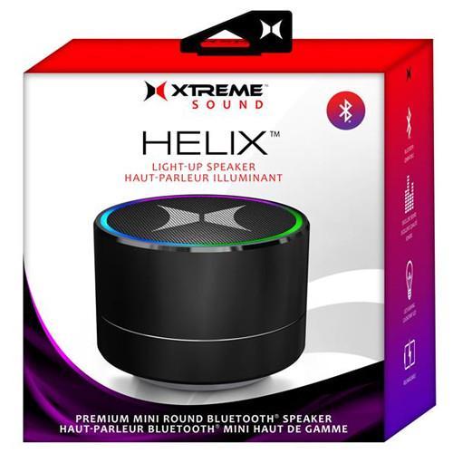 XTREME HELIX Haut-Parleur Bluetooth Portable Illumine avec LED Noir