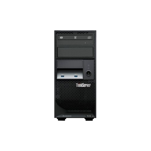 Lenovo ThinkServer TS150 70UB001WUX 4U Tower Server - 1 x Intel Core i3 (6th Gen) i3-6100T Dual-core (2 Core) 3.20 GHz - 8GB