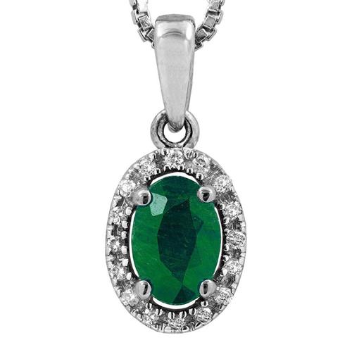14k oval cut emerald gem pendant with diamonds necklaces best 14k oval cut emerald gem pendant with diamonds necklaces best buy canada aloadofball Images