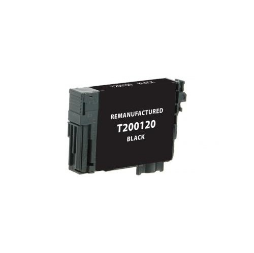 Remanufactured Black Ink Cartridge for Epson T200120 (EPC200120)