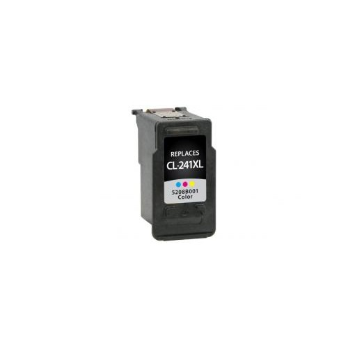 Remanufactured High Yield Color Ink Cartridge for Canon CL-241XL (DPCCL241XLCA)