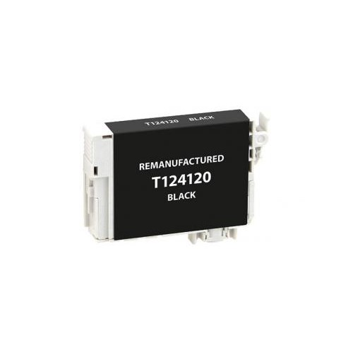 Remanufactured Black Ink Cartridge for Epson T124120 (EPC24120)