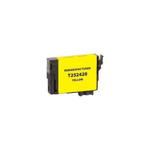 Remanufactured Yellow Ink Cartridge for Epson T252420 (EPC252420)