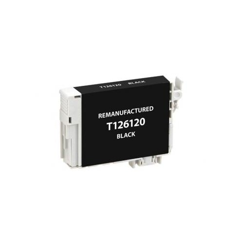 Remanufactured Black Ink Cartridge for Epson T126120 (EPC26120)