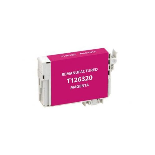 Remanufactured Magenta Ink Cartridge for Epson T126320 (EPC26320)