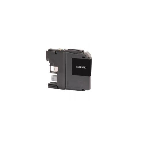 Remanufactured High Yield Black Ink Cartridge for Brother LC203 (DPCLC203BCA)