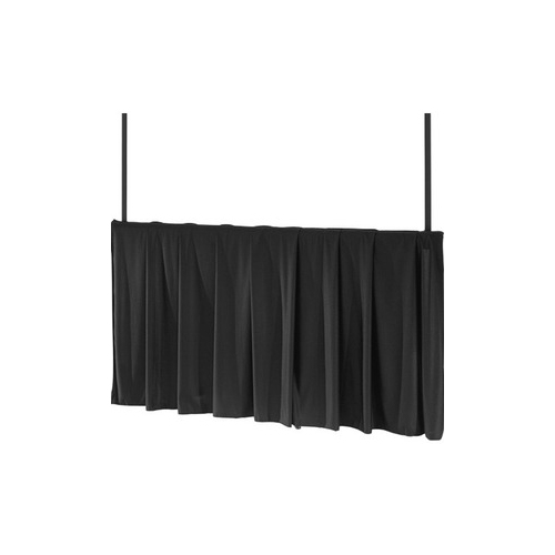 "Black Tripod Skirt Black Tripod Skirt for 84"" wide screens"