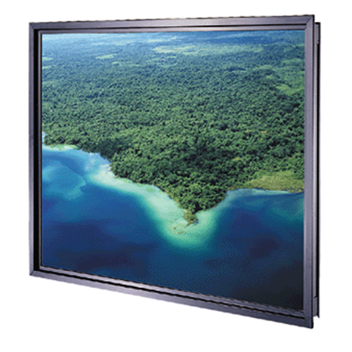 "Da-Plex Screens - HDTV Format Standard 3/8"" Thickness 119"" Diagonal Viewing Area 58"" x 104"""