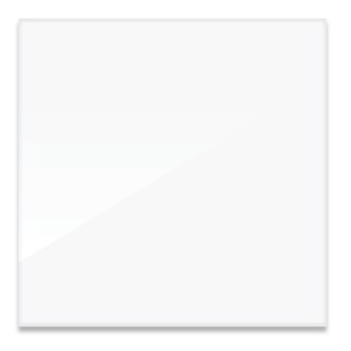 "Da-Plex Screens - Square Format Unframed 1/4"" Thickness Viewing Area 60"" x 60"""