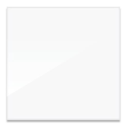 "Da-Plex Screens - Square Format Base 1/4"" Thickness Viewing Area 60"" x 60"""