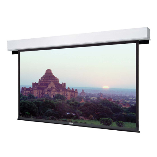"Advantage Deluxe Electrol - HDTV Format HC Matte White 1 84"""