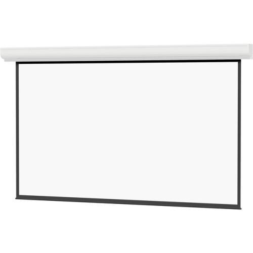 Advantage Deluxe Electrol - Square Format Matte White 12' x 12'