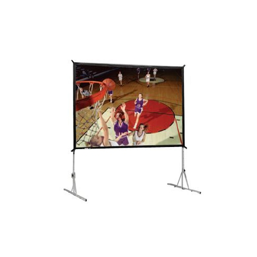 Dual Vision Front and Rear Projection Heavy Duty Fast-Fold Deluxe Complete Screen System 13' x 17' Area 12' x 16'