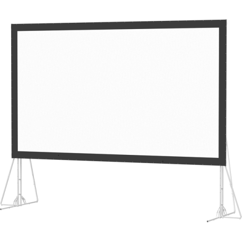 "Da-Mat Front Projection Fast-Fold Truss Frame Complete Screens 16' x 27'6"" Area 15' x 26'6"""