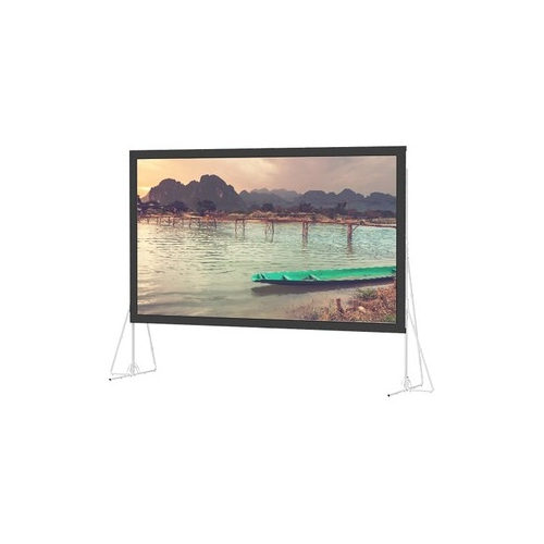 "Ultra Wide Angle Rear Projection Fast-Fold Truss Frame Complete Screens 11'6"" x 15' Area 10'6"" x 14'"