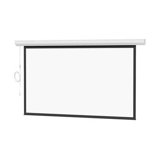 Designer Contour Electrol With Built-In Infrared Remote - HC Matte White 100""