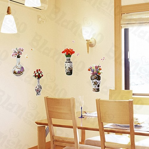 Flower Select-1 - Medium Wall Decals Stickers Appliques Home Decor ...
