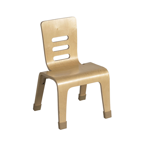 "ECR4Kids 14"" Bentwood Chair - Natural, 2 Pack"