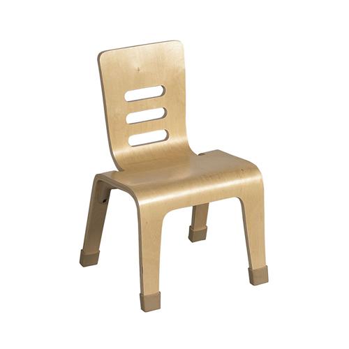 "ECR4Kids 16"" Bentwood Chair - Natural, 2 Pack"
