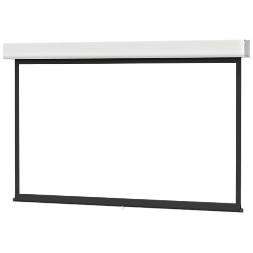 Da-Lite Advantage Manual With Controlled Screen Return Ceiling Recessed Hdtv Format Hc Matte White 1