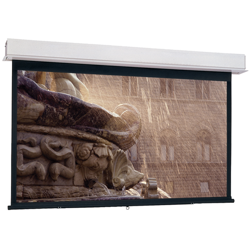 """Da-Lite Advantage Manual With Controlled Screen Return Ceiling Recessed Hdtv Format High Power 133""""D"""