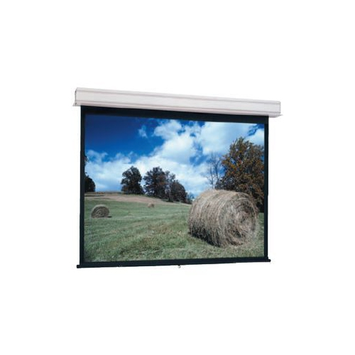 Da-Lite Advantage Manual With Controlled Screen Return Ceiling Recessed Hdtv Format Matte White 119""