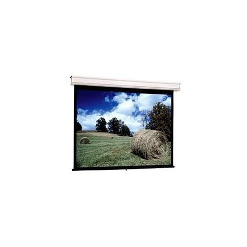 """Da-Lite Advantage Manual With Controlled Screen Return Ceiling Recessed Hdtv Format Matte White 159"""""""
