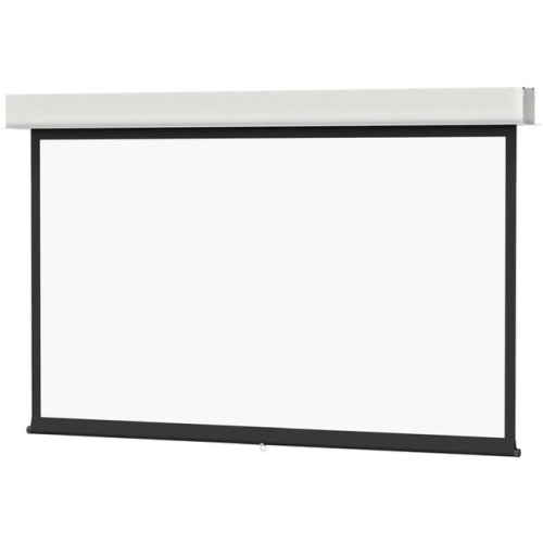 Da-Lite Advantage Manual With Controlled Screen Return Ceiling Recessed Video Format Matte White 100