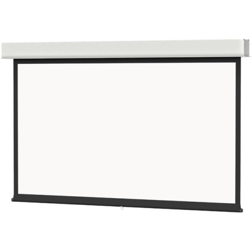 Da-Lite Advantage Manual With Controlled Screen Return Ceiling Recessed Video Format Matte White 120