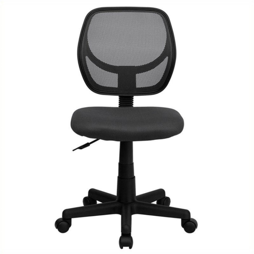 Mid-Back Gray Mesh Task Chair and Computer Chair [WA-3074-GY-GG]