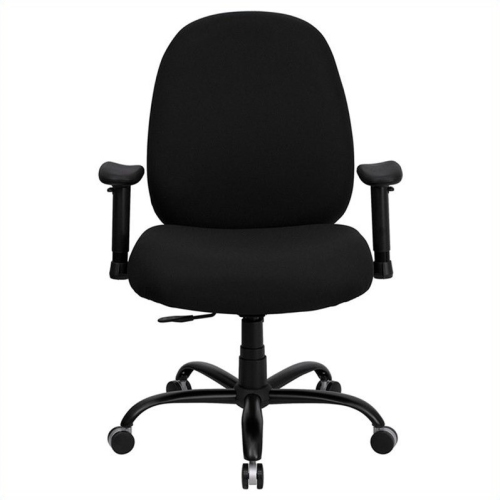 Capacity Big And Tall Black Fabric Office Chair With Arms And Extra WIDE  Seat [WL 715MG BK A GG] : Office Chairs   Best Buy Canada