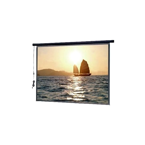 Slimline Electrol- VIDEO FORMAT Matte White 100""