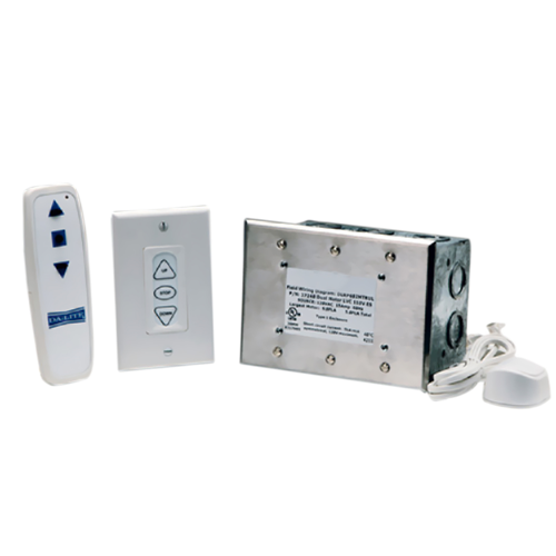 Wireless Remote/Low Voltage Control Control Kits Infrared Dual Motor Low Voltage Remote Control System
