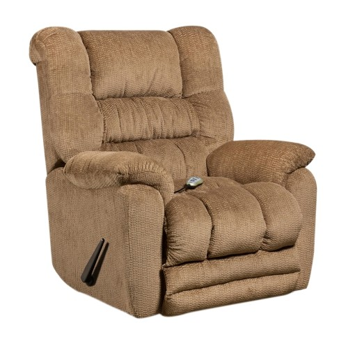 Massaging Temptation Fawn Microfiber Recliner with Heat Control [AM-H9560-6450-GG]