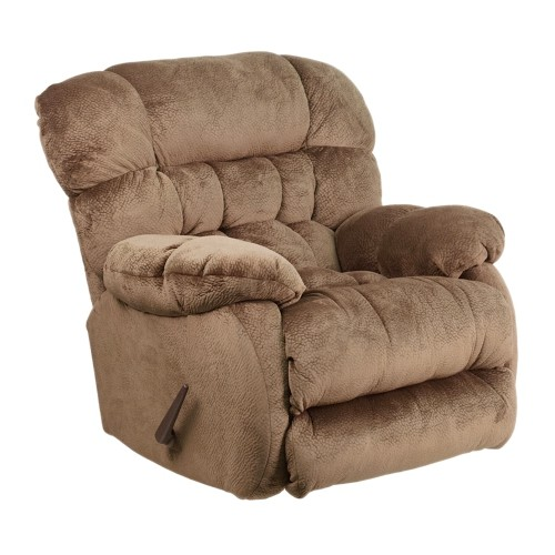 Contemporary Sharpei Espresso Microfiber Rocker Recliner [AM-9460-5983-GG]