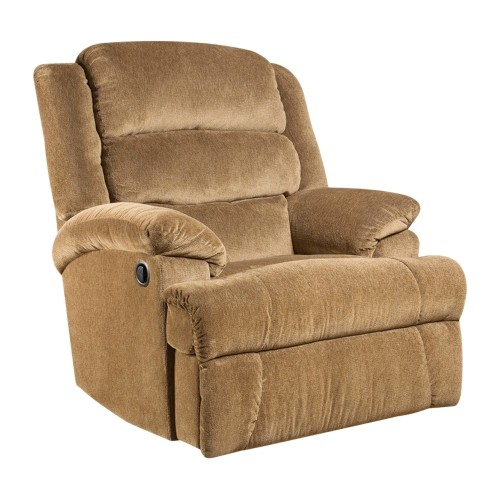 Big And Tall 350 Lb. Capacity Aynsley Amber Microfiber Recliner [AM-9960-7920-GG]