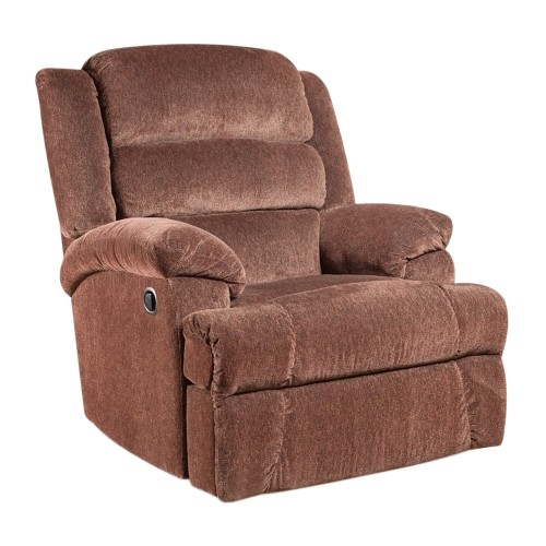 Big And Tall 350 Lb. Capacity Aynsley Claret Microfiber Recliner [AM-9960-7921-GG]