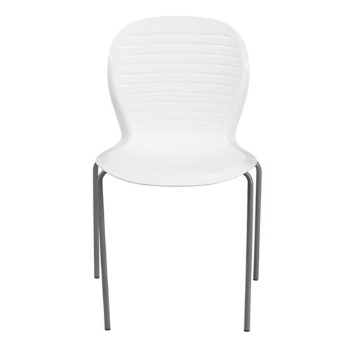HERCULES Series 551 lb. Capacity White Stack Chair