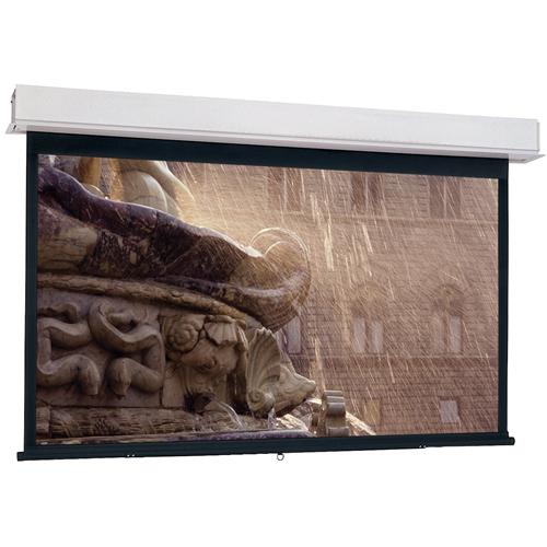 Da-Lite Advantage Manual With Controlled Screen Return Ceiling Recessed 16:10 Wide Format HC Matte