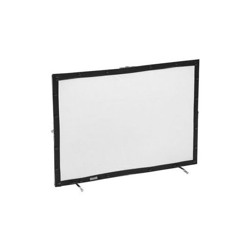 "Da-Lite Mini Fast Fold Table Top Projection Screen 21"" x 30"" Da-Tex Complete with Vinyl Case"