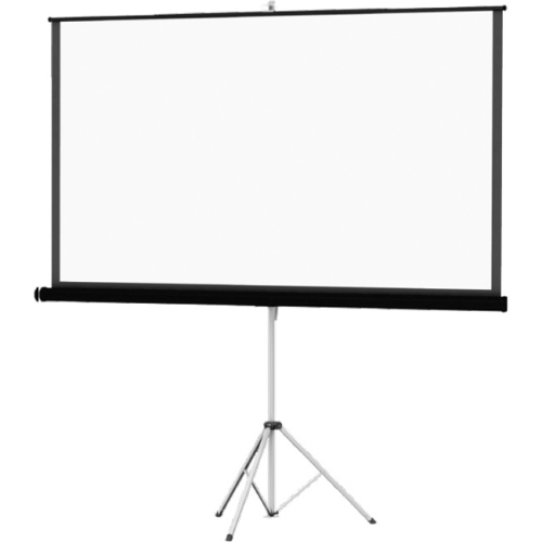 "Da-Lite Picture King With Keystone Eliminator 50"" X 67"" Matte White Surface Portable Projection Scre"