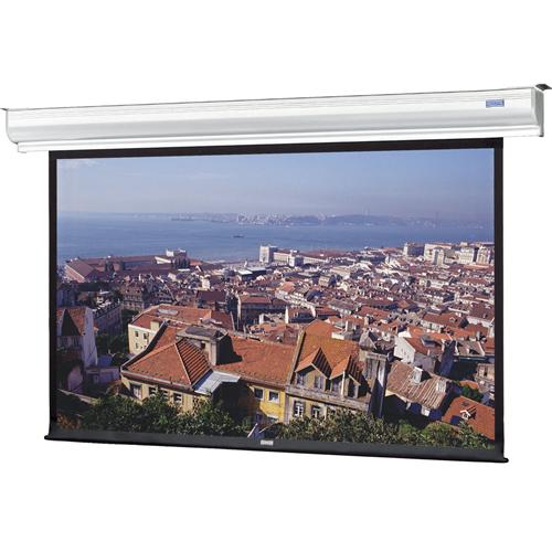 """Da-Lite Contour Electrol 105""""X140"""" Matte White Surface Wall Mount Projection Screen 180"""" Diagonal"""