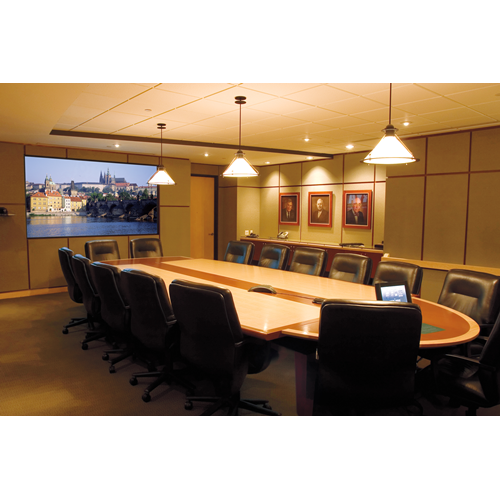"DA-Lite Da-Glas 43.25"" X 57.75 1/4""Unframed Polacoat Multi-Purpose Rear Projection Screen 72"" Diagon"