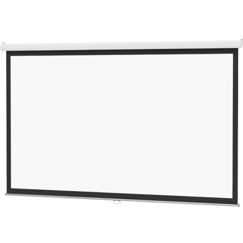 Da-Lite Model B With Controlled Screen Return High Contrast Matte White Pull Down Projection Screen