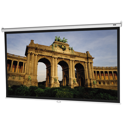 "Da-Lite Model B 70"" X 70"" Video Spectra Durable Manual Wall Mount Portable Projection Screen"